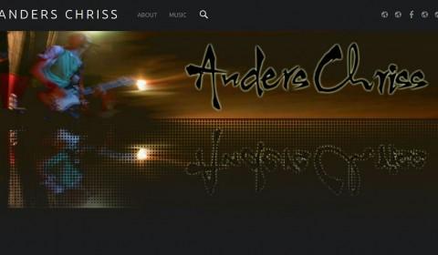 Skärmklipp Anders Chriss website